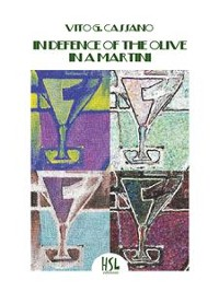 Cover In Defence of the Olive in a Martini