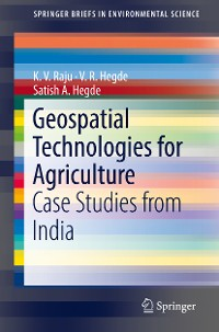 Cover Geospatial Technologies for Agriculture