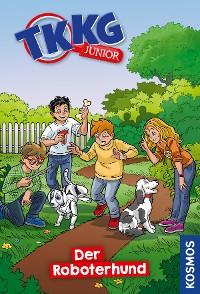 Cover TKKG Junior, 9, Der Roboterhund