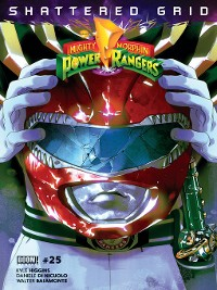 Cover Mighty Morphin Power Rangers, Issue 25