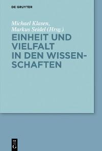 Cover Einheit und Vielfalt in den Wissenschaften