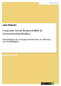 Cover Corporate Social Responsibility in Genossenschaftsbanken