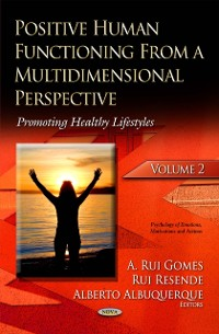 Cover Positive Human Functioning From a Multidimensional Perspective. Volume 2