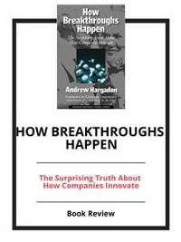 Cover How Breakthroughs Happen