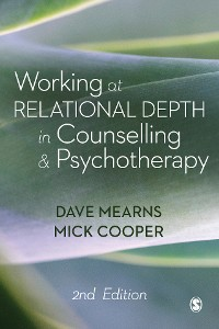 Cover Working at Relational Depth in Counselling and Psychotherapy