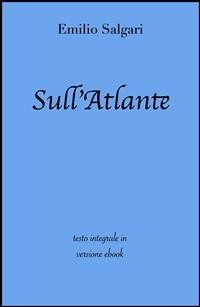 Cover Sull'Atlante di Emilio Salgari in ebook