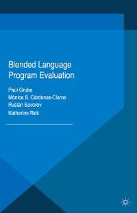 Cover Blended Language Program Evaluation