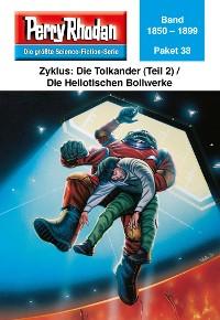 Cover Perry Rhodan-Paket 38: Die Tolkander (Teil 2) / Die Heliotischen Bollwerke