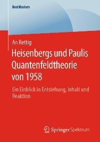 Cover Heisenbergs und Paulis Quantenfeldtheorie von 1958