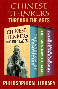 Cover Chinese Thinkers Through the Ages