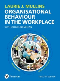 Cover Mullins: Organisational Behaviour in the Workplace