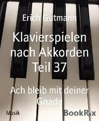 Cover Klavierspielen nach Akkorden Teil 37