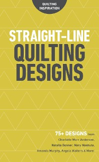 Cover Straight-Line Quilting Designs