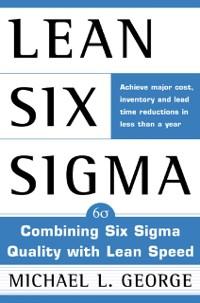 Cover Lean Six Sigma