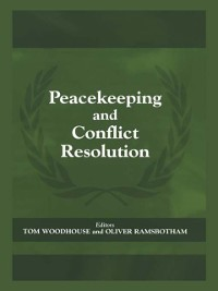 Cover Peacekeeping and Conflict Resolution