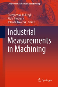 Cover Industrial Measurements in Machining