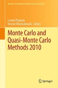 Cover Monte Carlo and  Quasi-Monte Carlo Methods 2010