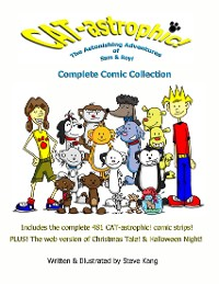 Cover CAT-astrophic! The Astonishing Adventures of Sam & Roy! Complete Comic Collection