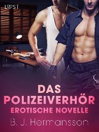 Cover Das Polizeiverhör - Erotische Novelle