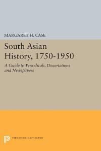 Cover South Asian History, 1750-1950