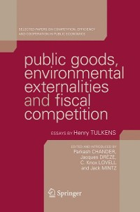 Cover Public Goods, Environmental Externalities and Fiscal Competition