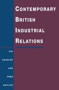 Cover Contemporary British Industrial Relations