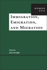 Cover Immigration, Emigration, and Migration