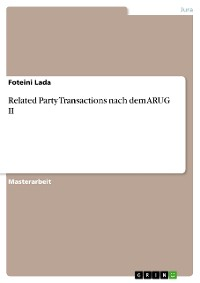 Cover Related Party Transactions nach dem ARUG II