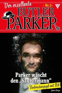 Cover Der exzellente Butler Parker 2 - Kriminalroman