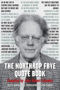 Cover The Northrop Frye Quote Book