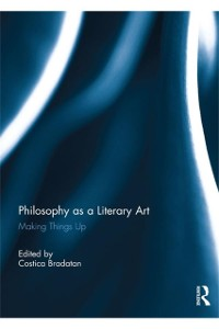 Cover Philosophy as a Literary Art