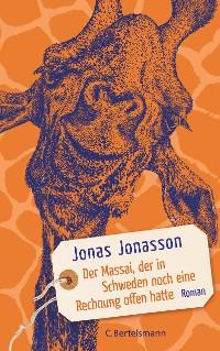 Cover Der Massai, der in Schweden noch eine Rechnung offen hatte
