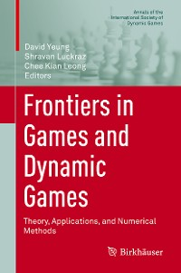 Cover Frontiers in Games and Dynamic Games