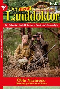 Cover Der neue Landdoktor 81 – Arztroman