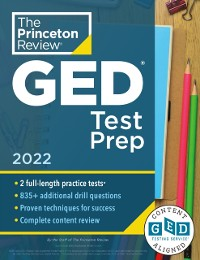 Cover Princeton Review GED Test Prep, 2022