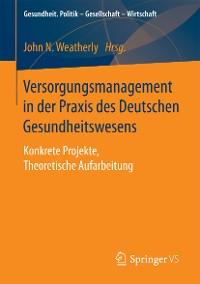 Cover Versorgungsmanagement in der Praxis des Deutschen Gesundheitswesens