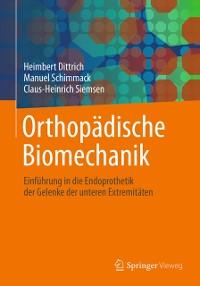 Cover Orthopadische Biomechanik