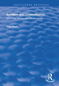 Cover Socialism and Communication