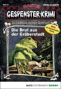 Cover Gespenster-Krimi 34 - Horror-Serie