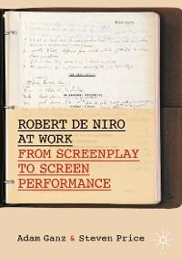 Cover Robert De Niro at Work