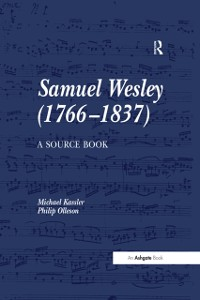 Cover Samuel Wesley (1766-1837): A Source Book