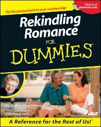 Cover Rekindling Romance For Dummies