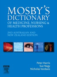 Cover Mosby's Dictionary of Medicine, Nursing and Health Professions - Australian & New Zealand Edition - E-Book