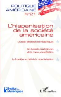 Cover L'hispanisation de la societe americaine