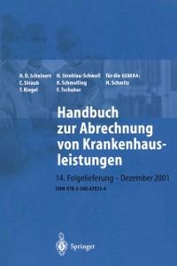 Cover Handbuch zur Abrechnung von Krankenhausleistungen
