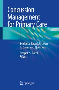 Cover Concussion Management for Primary Care