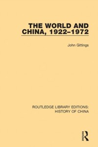 Cover World and China, 1922-1972