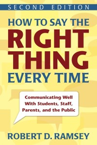 Cover How to Say the Right Thing Every Time