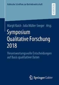 Cover Symposium Qualitative Forschung 2018