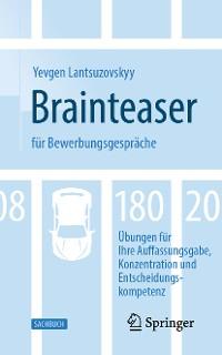 Cover Brainteaser für Bewerbungsgespräche